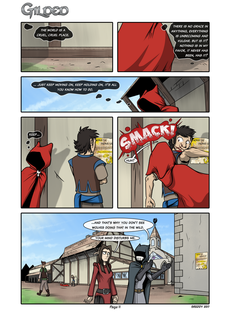 Gilded Page 11 by Sreddyswag