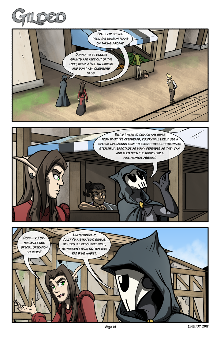 Gilded Page 13 by Sreddyswag