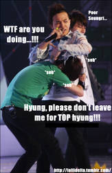 Hyung, don't leave me. by xinping2016