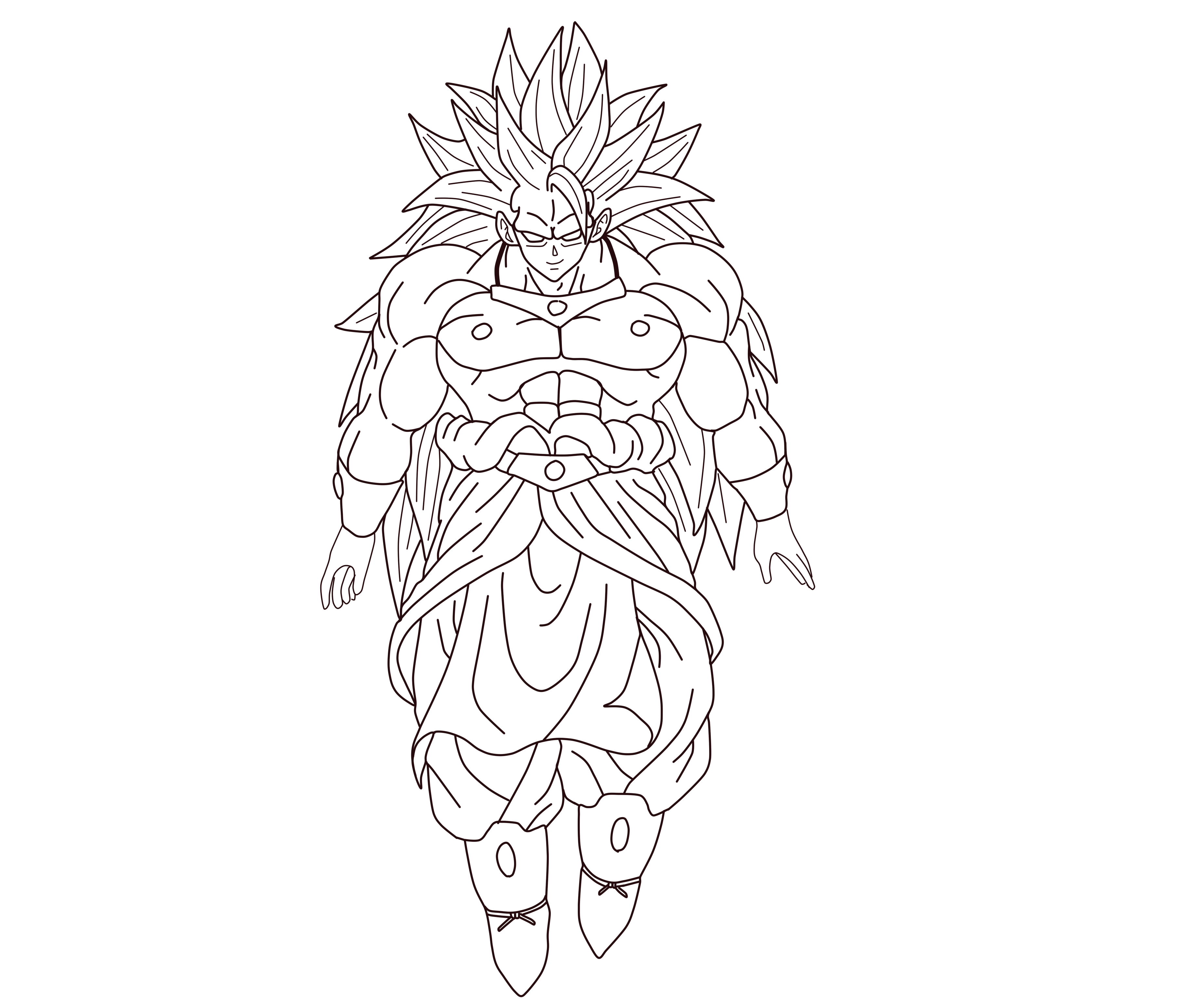 Broly LSSJ3  What If Saga by ZedCreations on DeviantArt