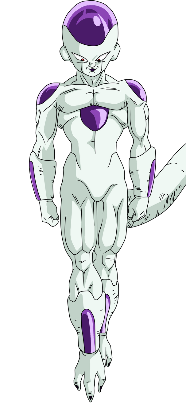 How To Draw Mecha Frieza