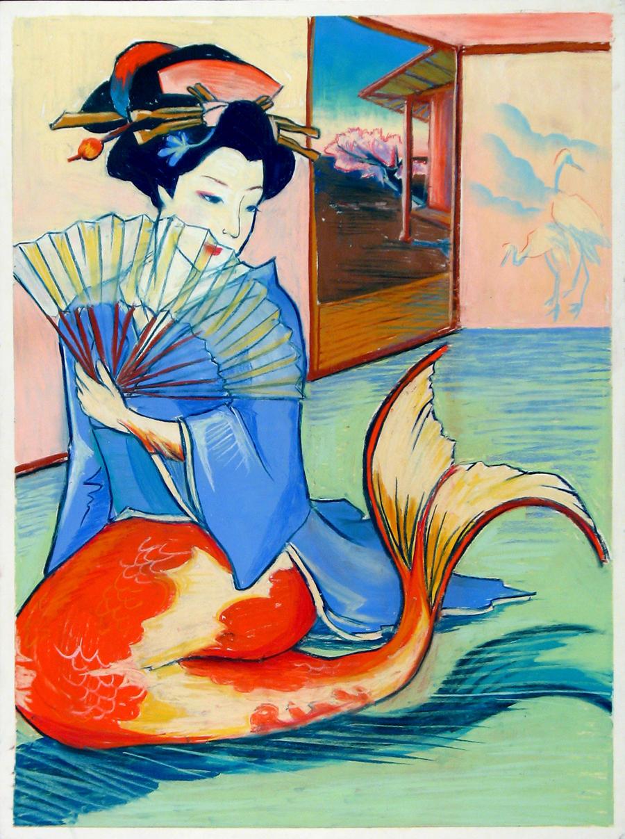 Koi Mermaid By SaturdayMmrs On DeviantArt