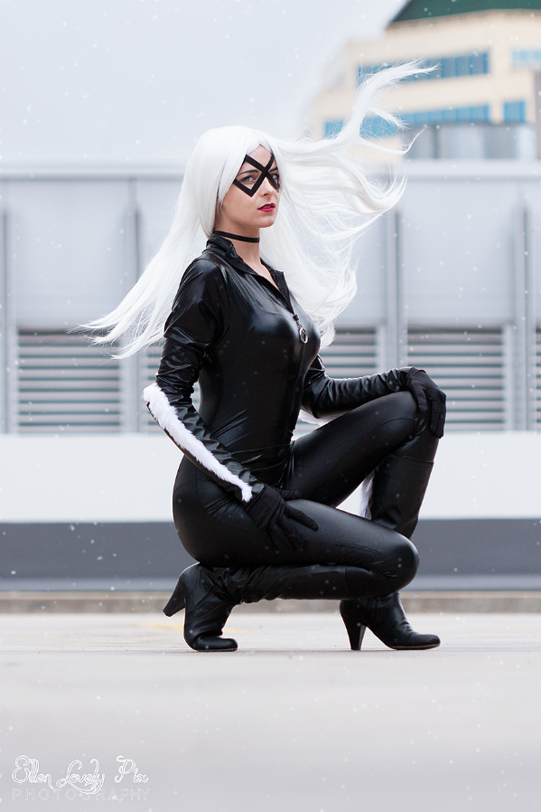Marvel - Black Cat by ellenlovely