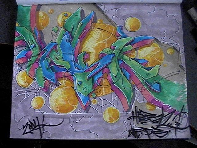 graffiti by Bacho