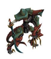 Ancient Warrior by ableekertomorrow