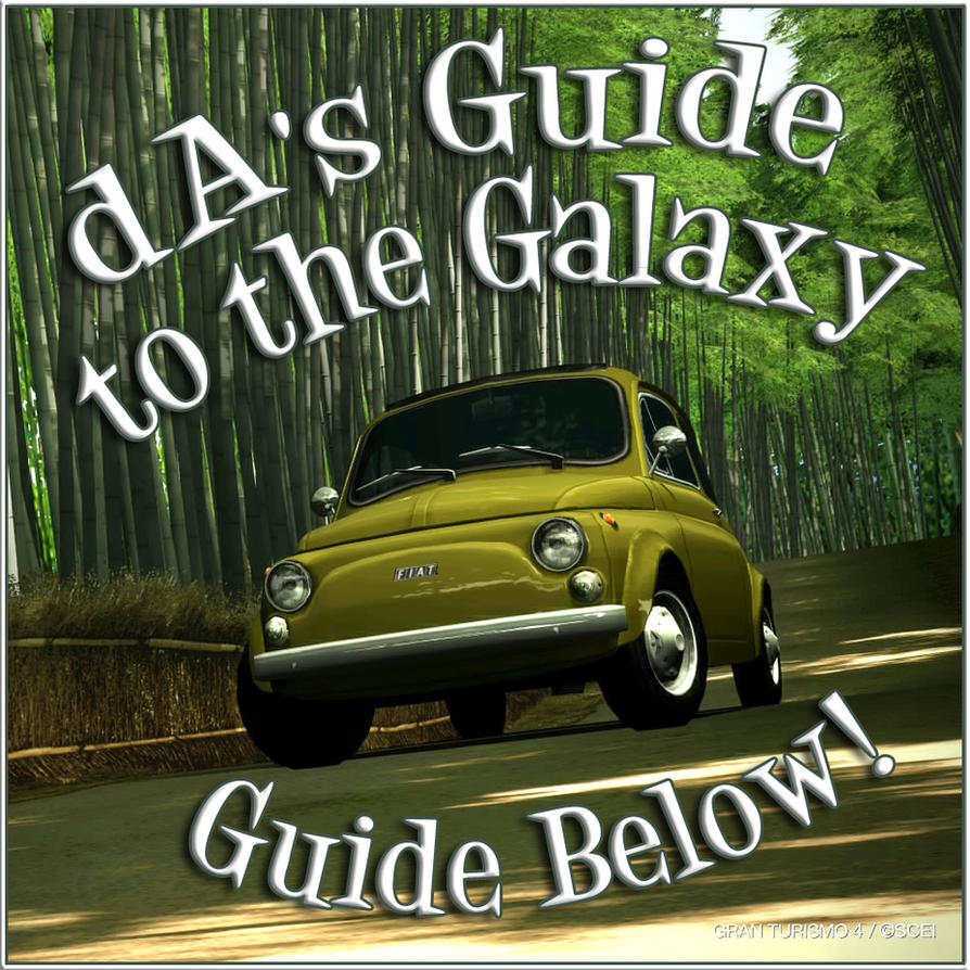 dA's Guide to the Galaxy Full by Shroomkin