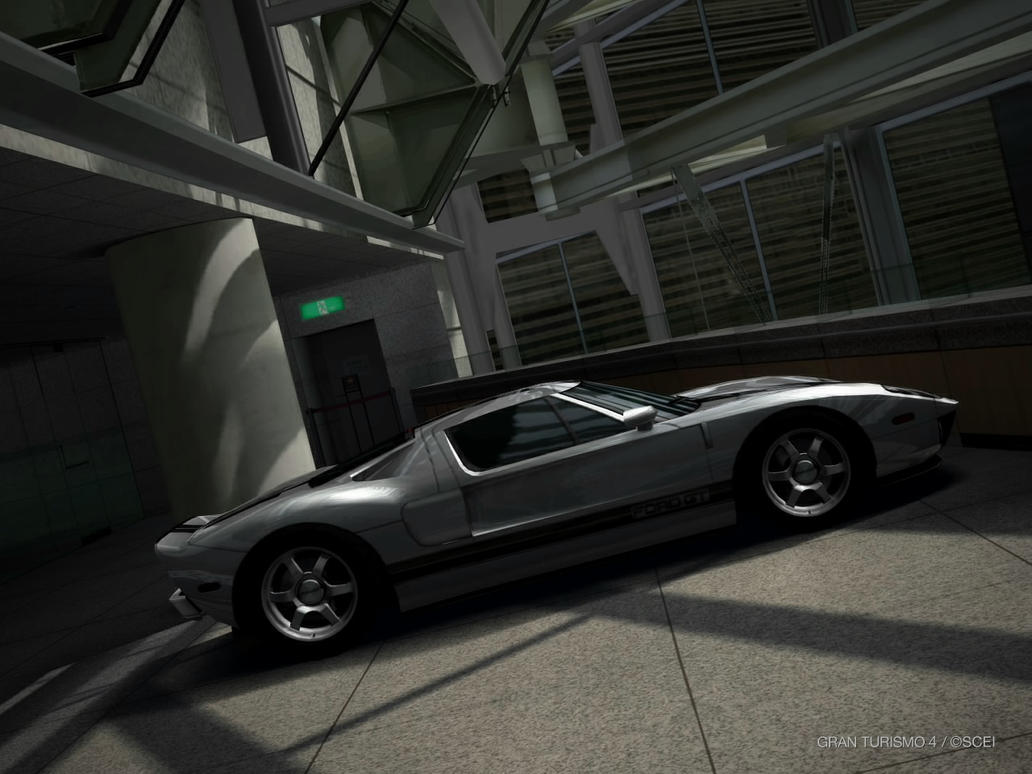 GT4- Ford GT by Shroomkin