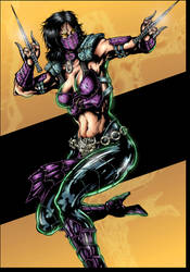Mileena MKX  Fan art by predatorhunter79