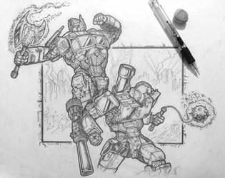 Friend or foe? Transformers by predatorhunter79