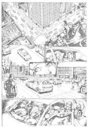 Batman comic test by predatorhunter79