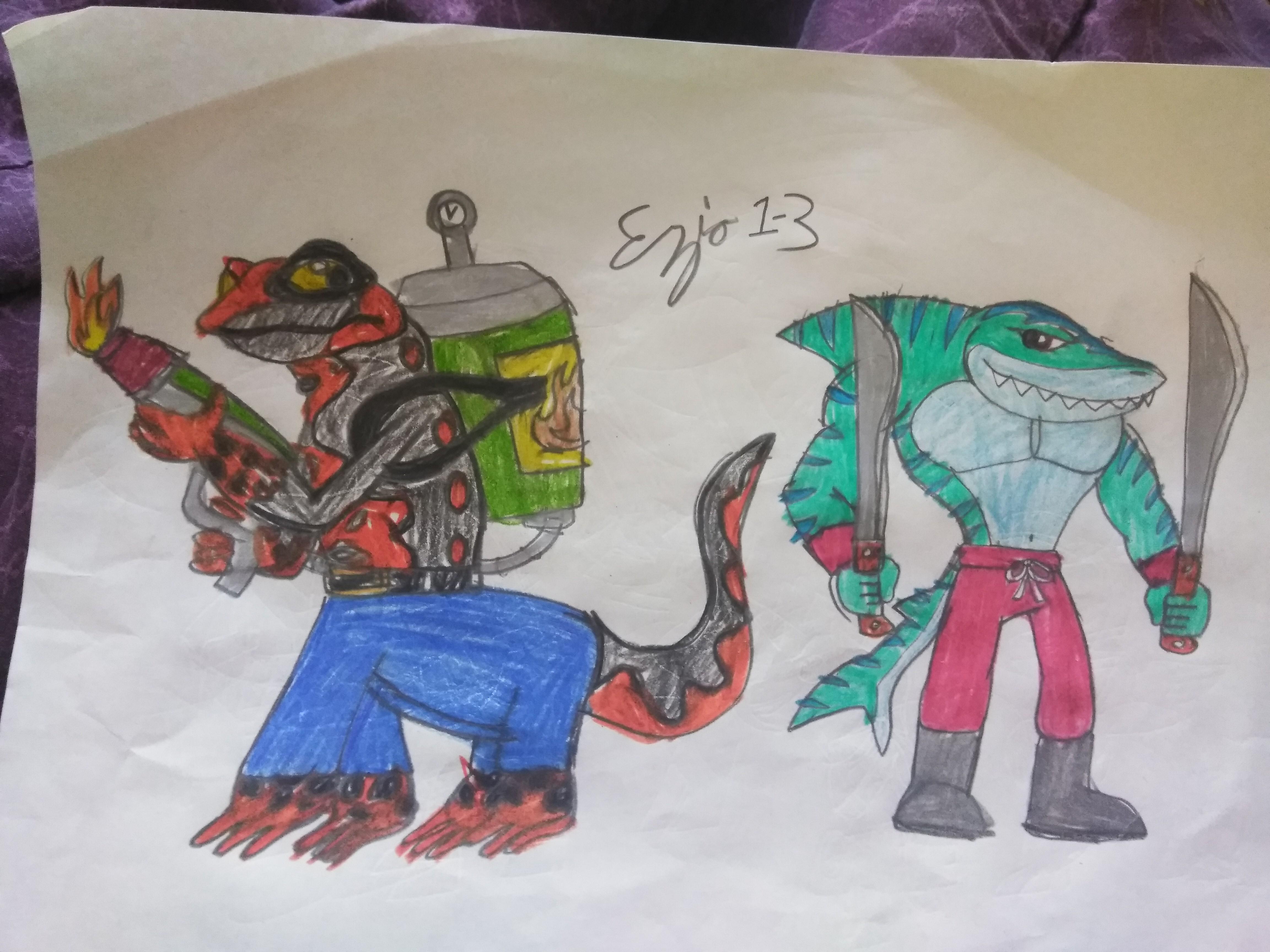 request tmnt 2012 oc s sharktooth and sala raptor by ezio1 3 on deviantart deviantart