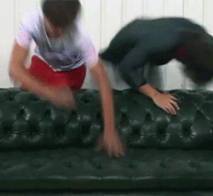 Harry and Louis: couch roll clip by kdonovan1992