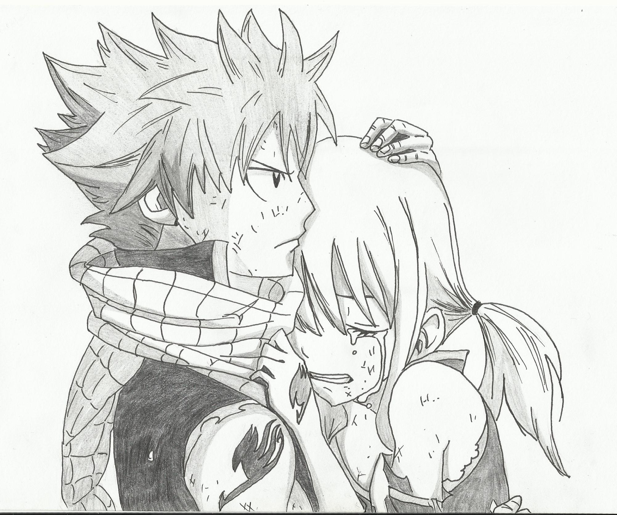 Natsu And Lucy By Mikedudec On Deviantart