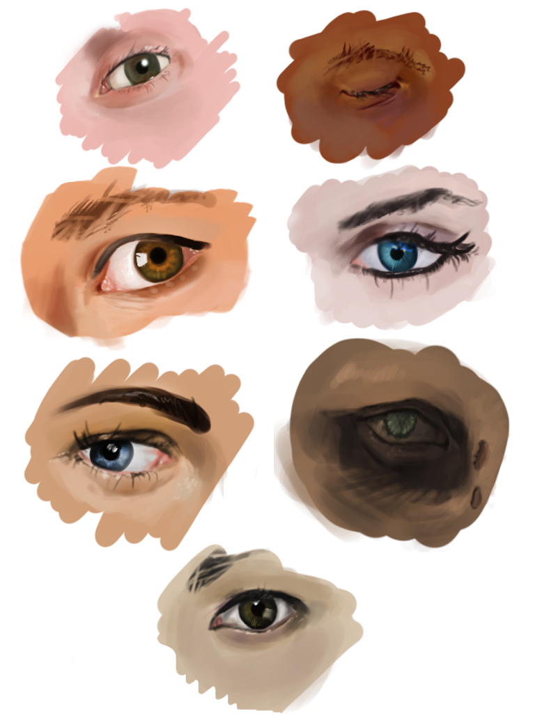 eye studies by rastaray