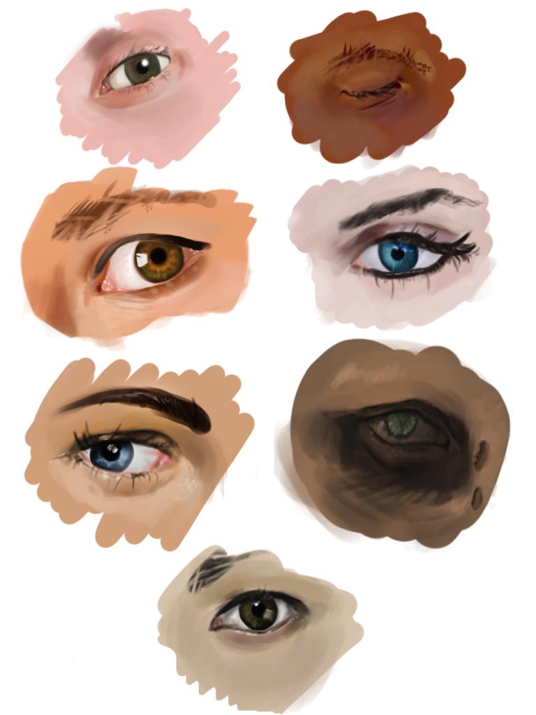 eye studies by rastaray