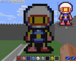 Bomberman - Minecraft BlockArt
