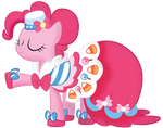 Pinkie at the Gala