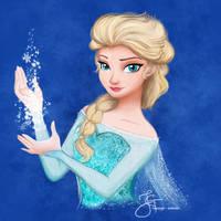 Elsa (Frozen) by tiannangel