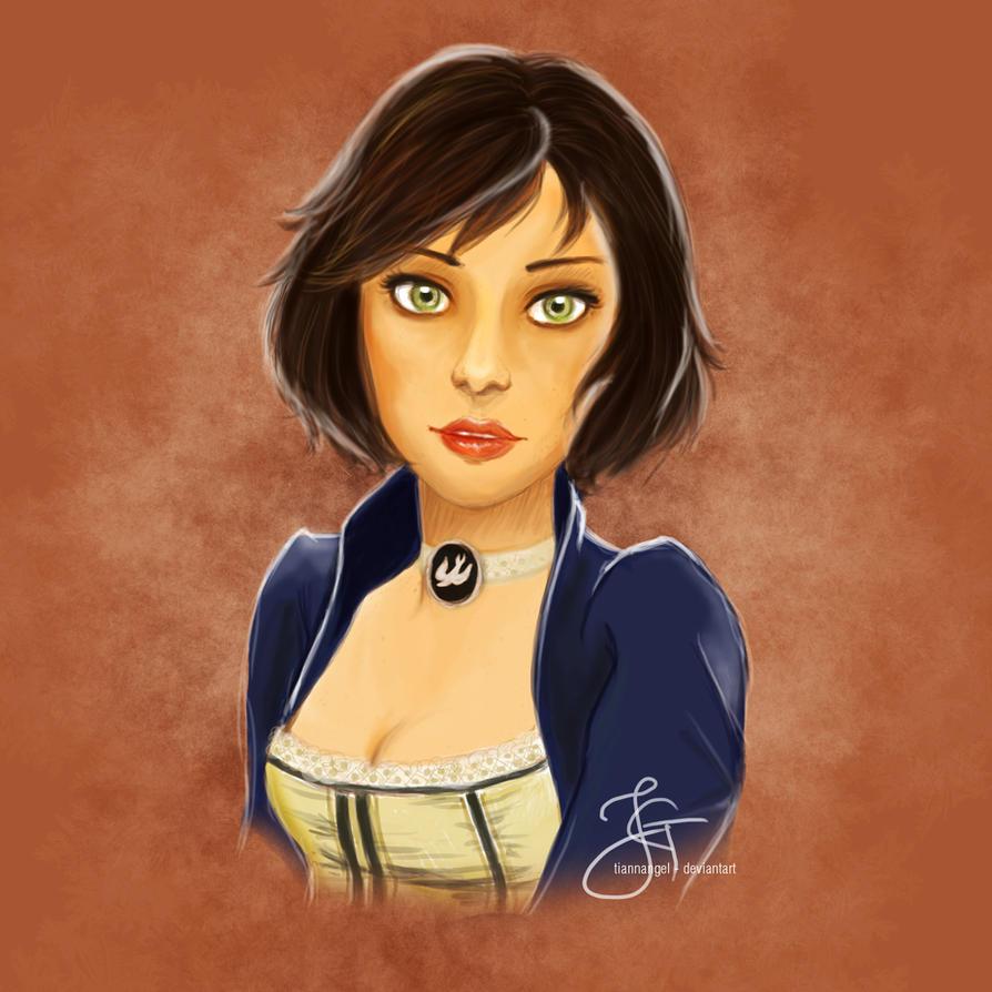 Elizabeth (Bioshock) by tiannangel