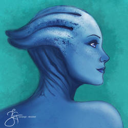 Liara T'soni (Mass Effect) by tiannangel