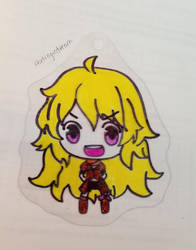 WIP Shrink Plastic Yang Xiao Long by thetragicdream