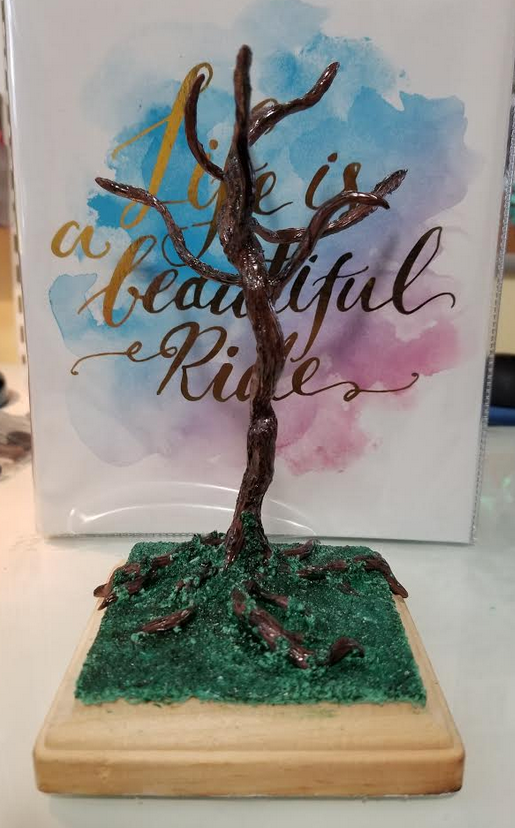 Polymer Clay Tree by thetragicdream
