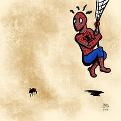 Spidersona: Scared of Spiders!!! by SlayerWatcher6