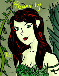 Poison Ivy by SlayerWatcher6