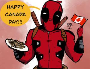 Deadpool Canada Day