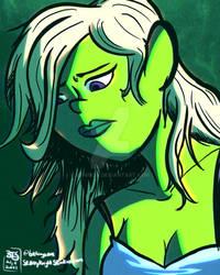 Green Blues - No Text