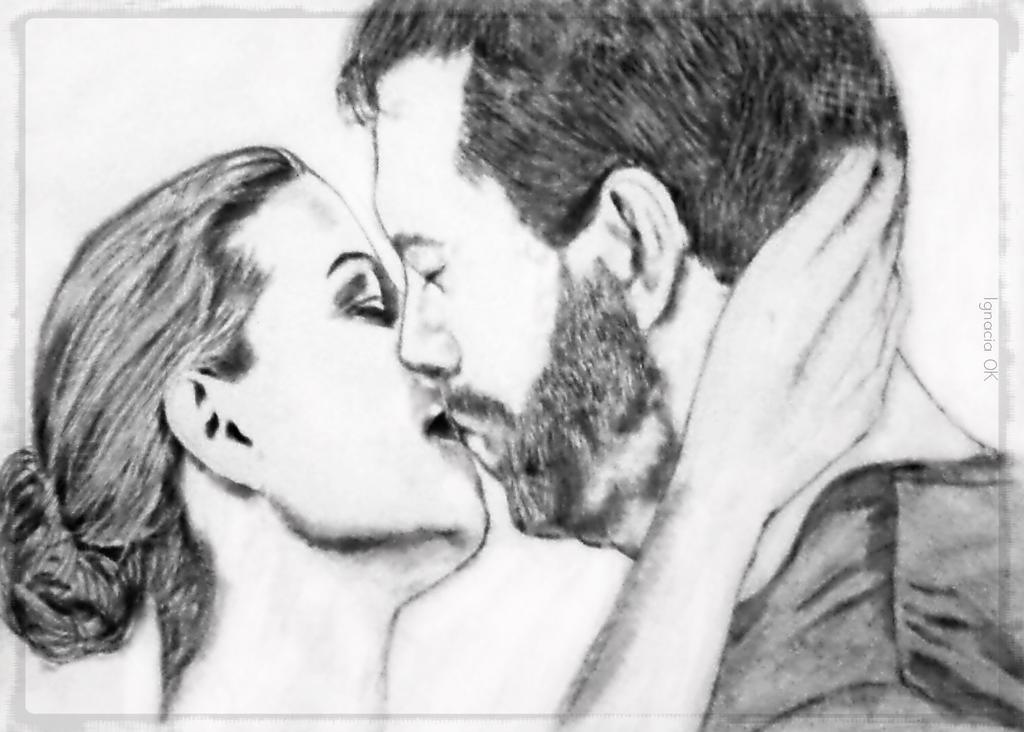 Kiss Kiss by ignaciaOK