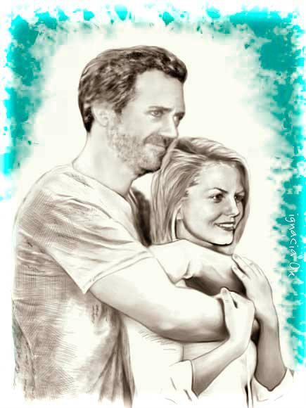 Hugh and Jenn or House and Cameron by ignaciaOK