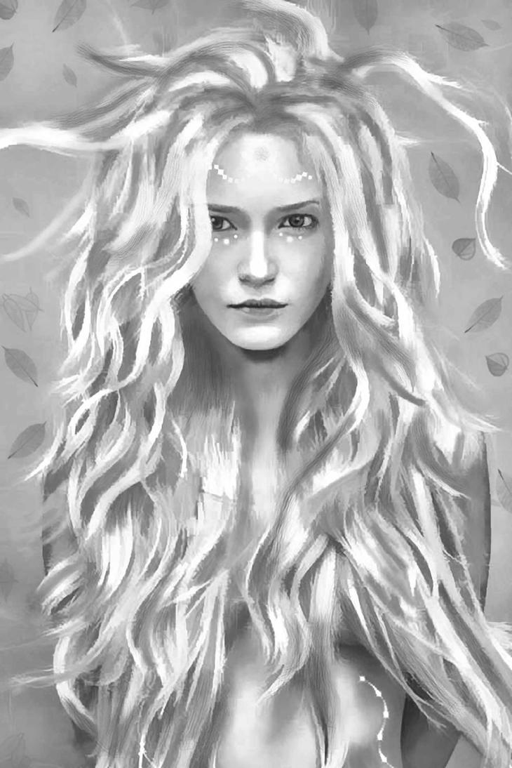 Yavanna Queen of the Earth by ignaciaOK