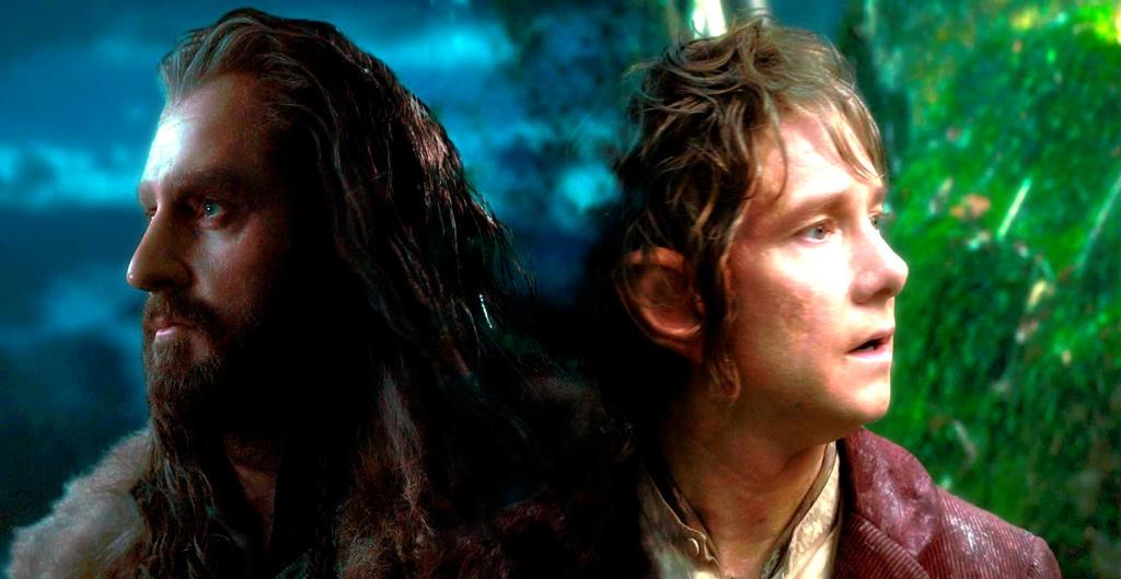 Bilbo and Thorin by ignaciaOK