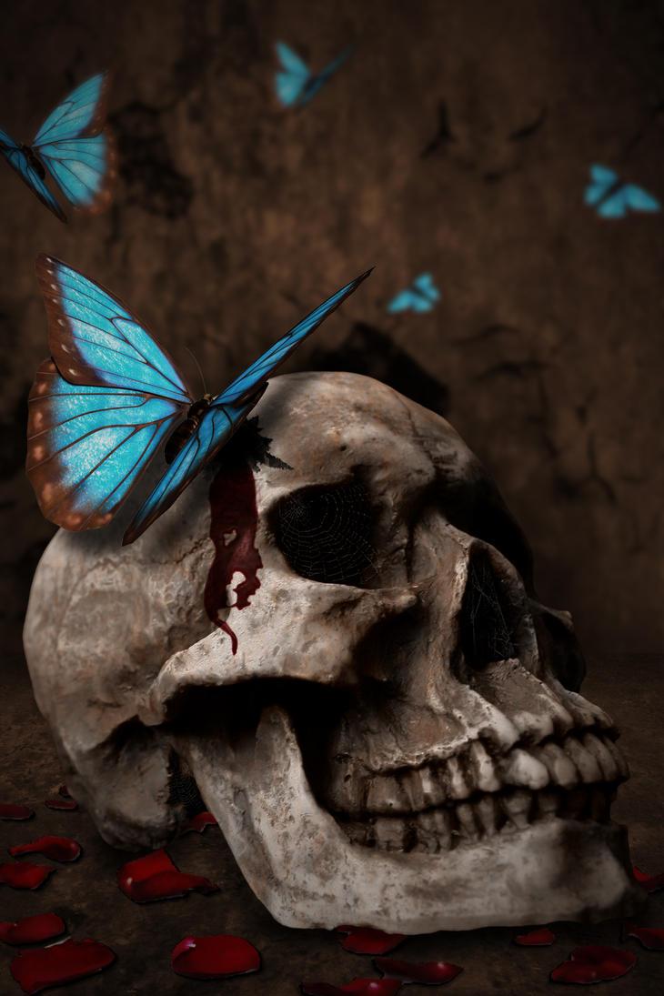 Skull of Cupid by ChimeraArtz