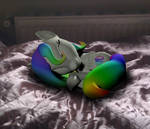 Little Rainbow sleeps.