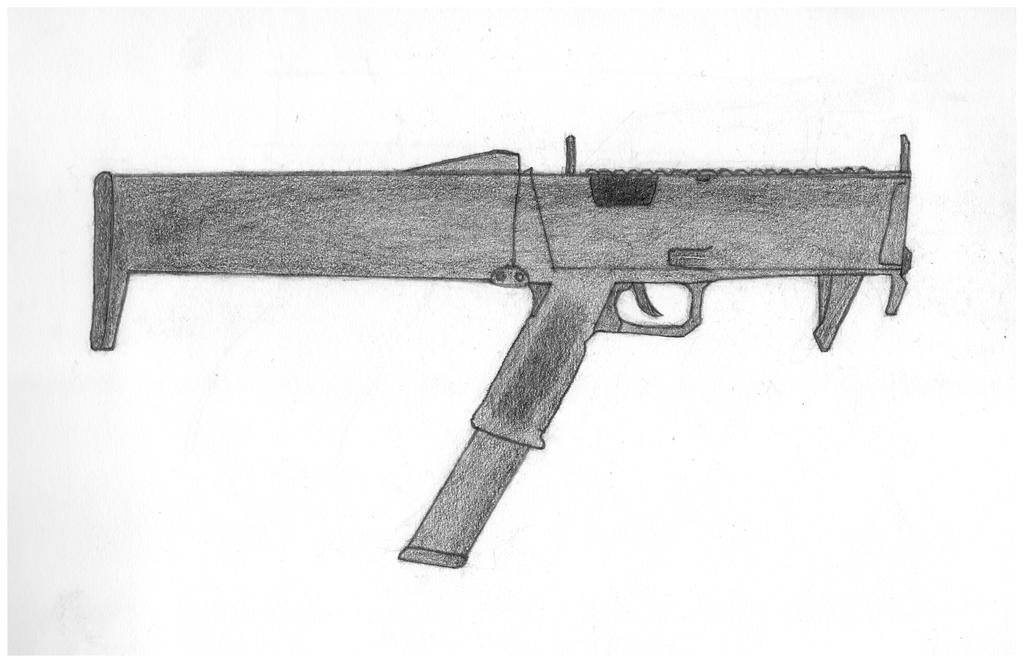Guns of Professional Meddlers - IDA FMG-9 by ProfBathrobe