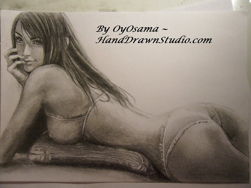 Tifa Advent Children sexy Pose by HandDrawnHentai