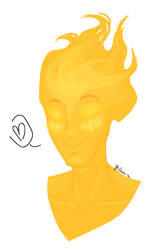 Better Grillby Bust (Blush)