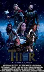 Thor: The Dark World  - Movie Poster (Ps Project)