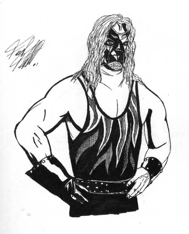 kane mask coloring pages - photo#6