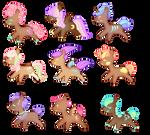 Mystery Pony Cookies Batch #2 [setprice][2/9 open] by LavvytheJackalope
