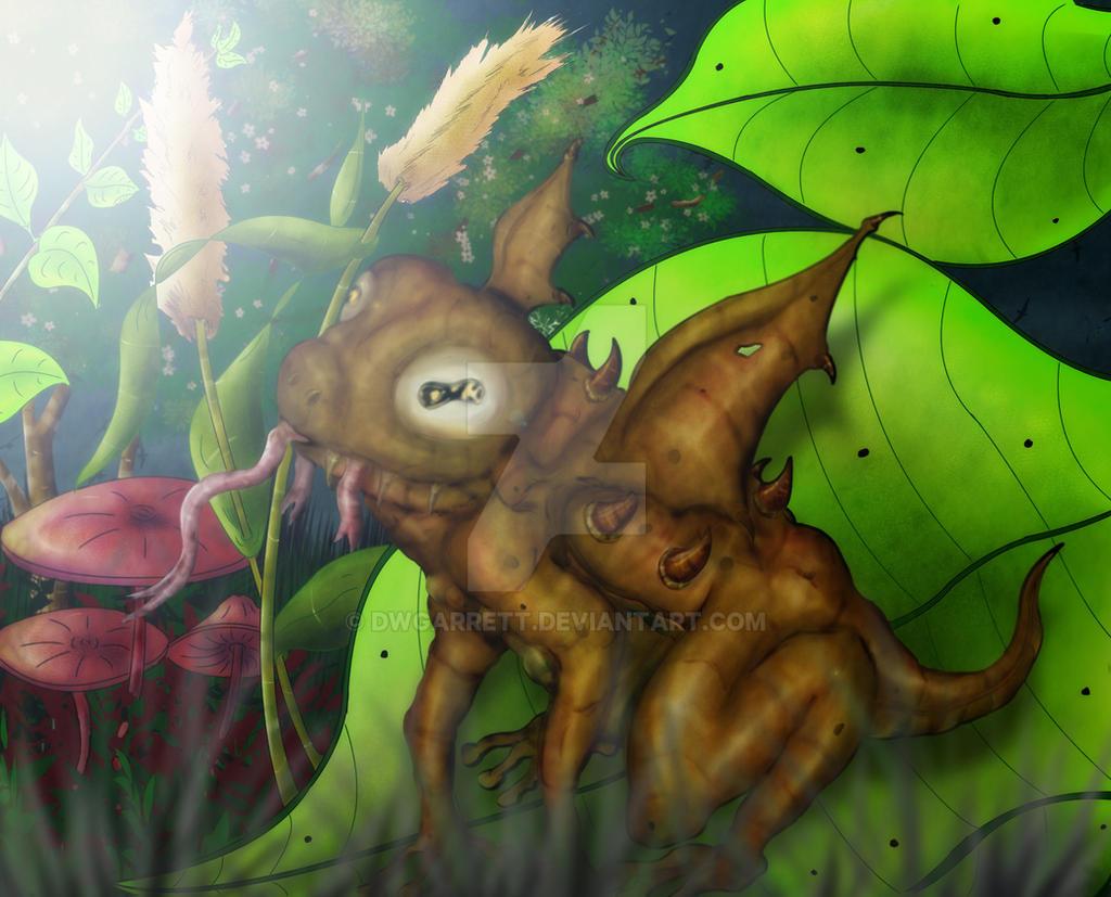 Demon Frog Version 2 by artiststudio-us