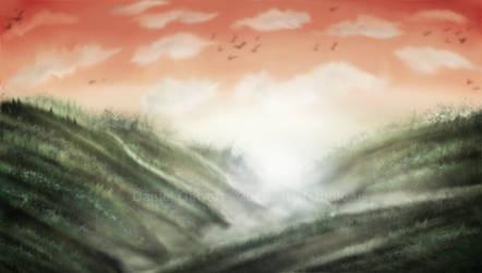 Sunset Hills by artiststudio-us