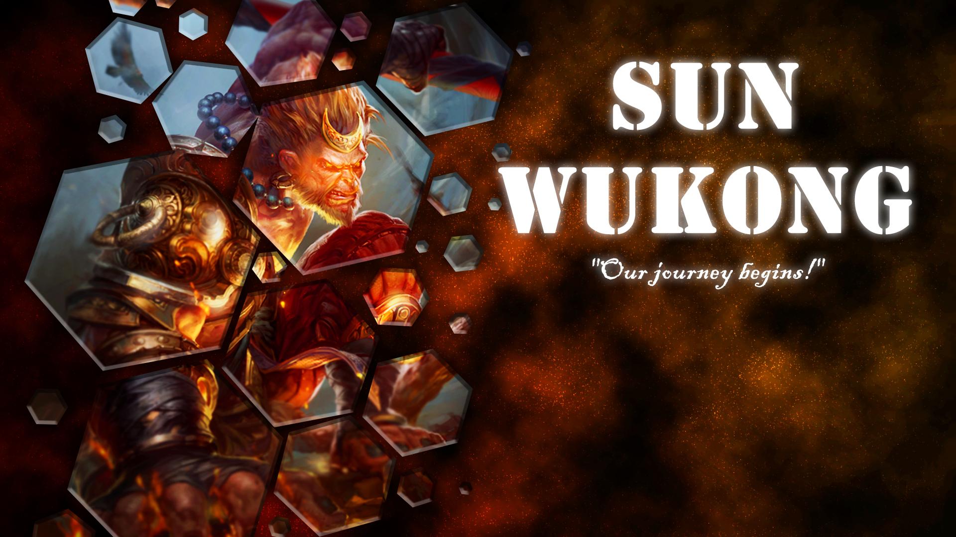 sun wukong wallpaper by bveckie on deviantart