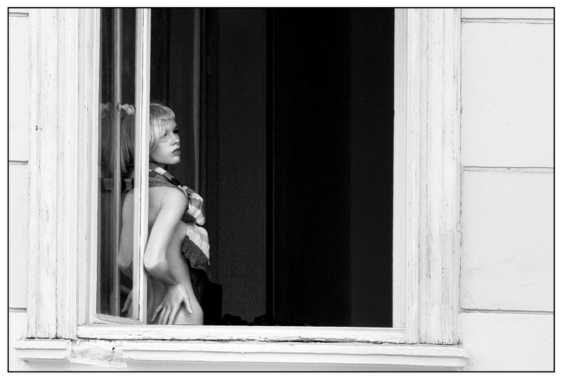 the doll at the window by Streetphoto-Berlin