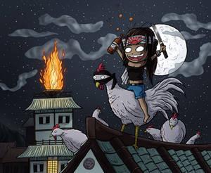Ninja Chicken Warrior Miki
