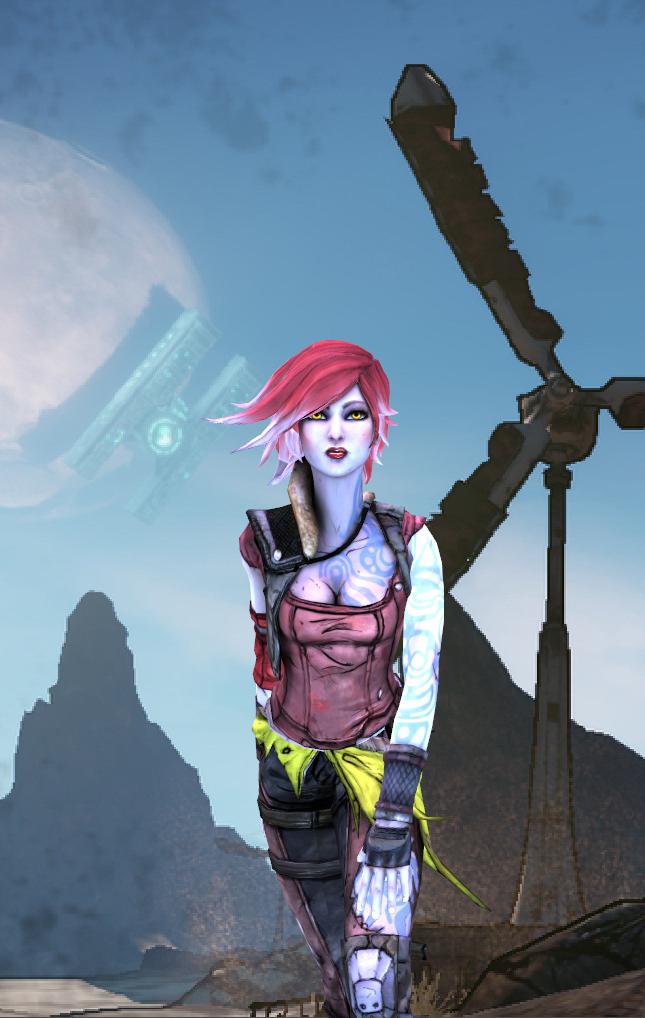 Xna Borderlands 2 Lilith By Jeux422 On Deviantart