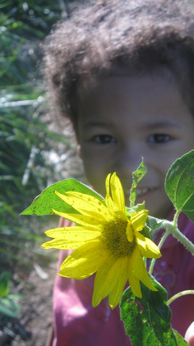sunflower baby by ifeyescouldtalk
