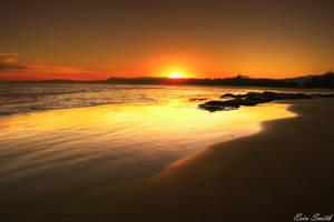 Golden Shores by engridearty